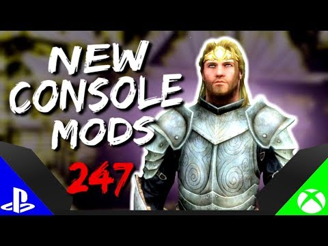 Skyrim Special Edition: ▶️5 BRAND NEW CONSOLE MODS◀️ #247 (PS4/XB1/PC)
