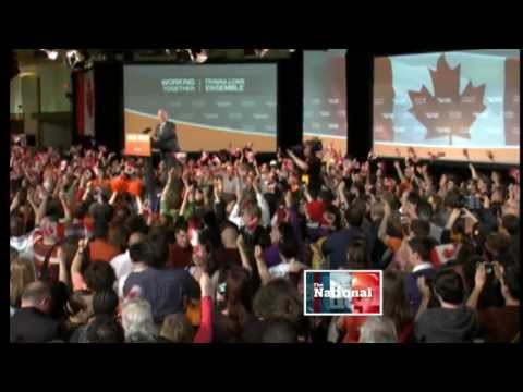 Jack Layton 1950 - 2011 (CBC coverage)