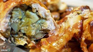 462 - Coniglio ripieno alla senese...tanta gente me lo chiese! (secondo di carne tipico toscano)