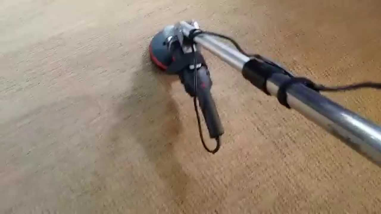 Hot Rod Carpet Scrubber Pt 1 Youtube