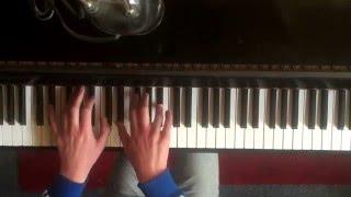 bright smile. nirvana. piano.