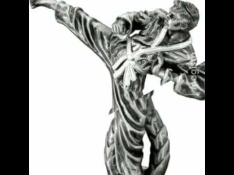 Martial arts resin trophies