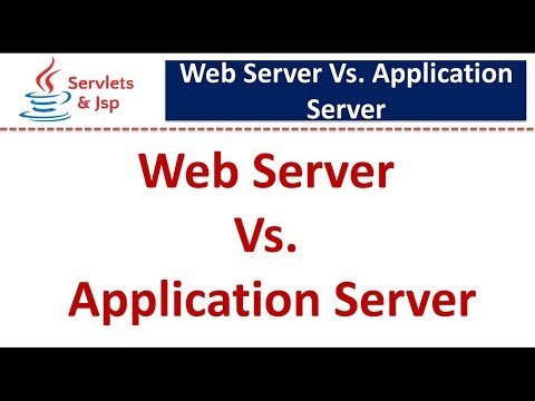 Servlets : Webserver vs Application Server