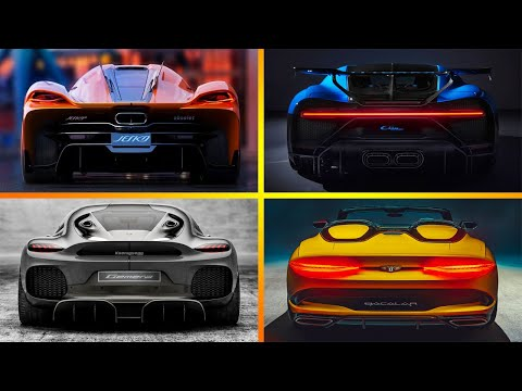 10 New Best SUPERCARS 2020 and 2021