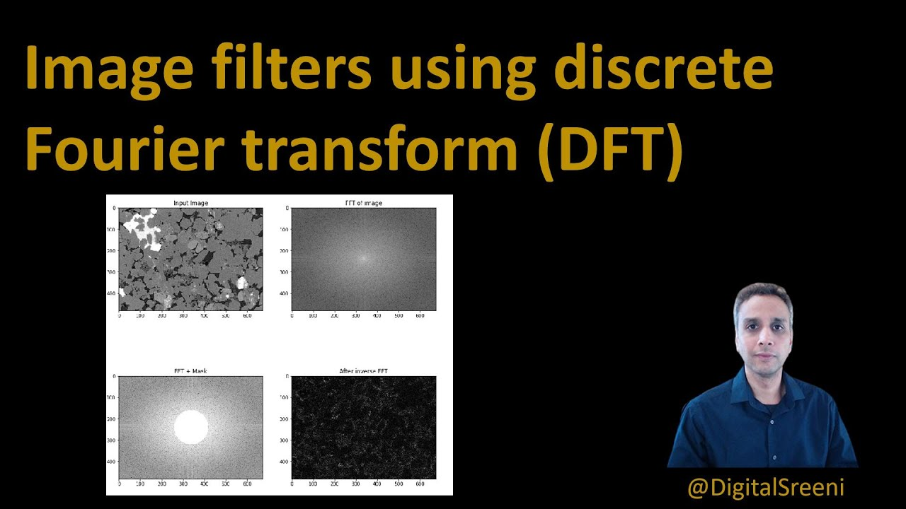 Image Filters using Discrete Fourier Transform (DFT)