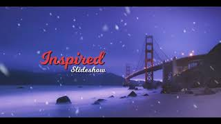 Christmas 2020 Slideshow Winter Opener After Effects Project Files hive template
