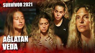Survivor'da Ağlatan Veda   Survivor 2021