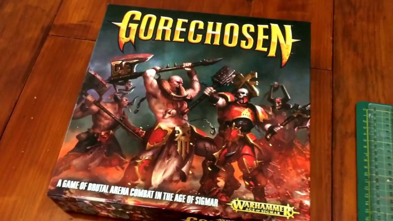 Making The Custom Gorechosen Board