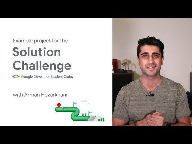 2021 Solution Challenge: Example project
