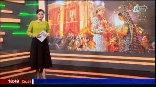 В индийском Джайпуре прошла необычная свадьба