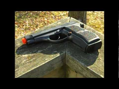 Full Metal M84 Compact Airsoft Co2 Powered Airsoft Gas Pistol Review