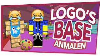 Koopa und Ich malen Logo's Base an! (Troll Wars)