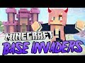 Kawaii Castle | Minecraft Base Invaders Challenge