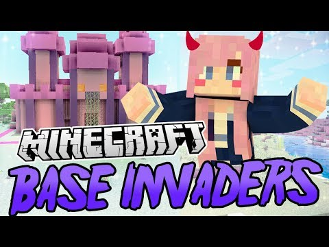 Kawaii Castle | Minecraft Base Invaders Challenge