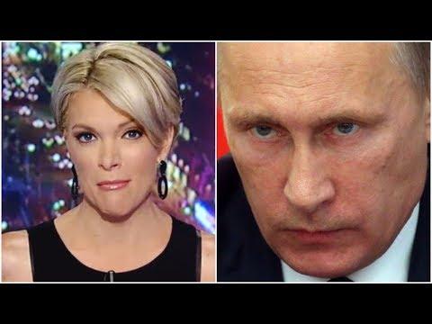 Vladimir Putin Bulldozes Megan Kelly Over Russian Interference