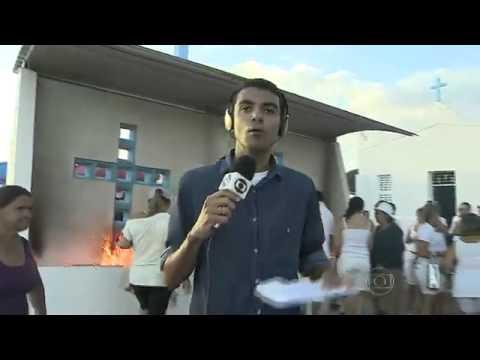 Reportagem sobre a festa em homenagem a São José em Campo do Brito no Globo Rural (2014)