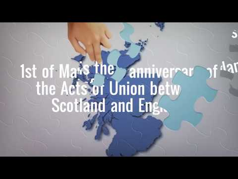 1st May 1707 - Scotland in Union.