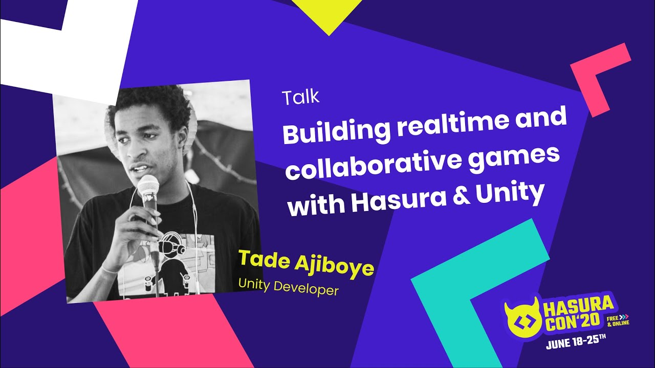 Download Building realtime and collaborative games with Hasura & Unity by Tade Ajiboye