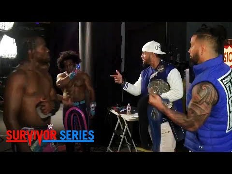 The Usos urge The New Day to hold their heads up: Exclusive, Nov 19, 2017