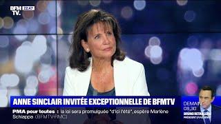 L'interview d'Anne Sinclair à BFMTV