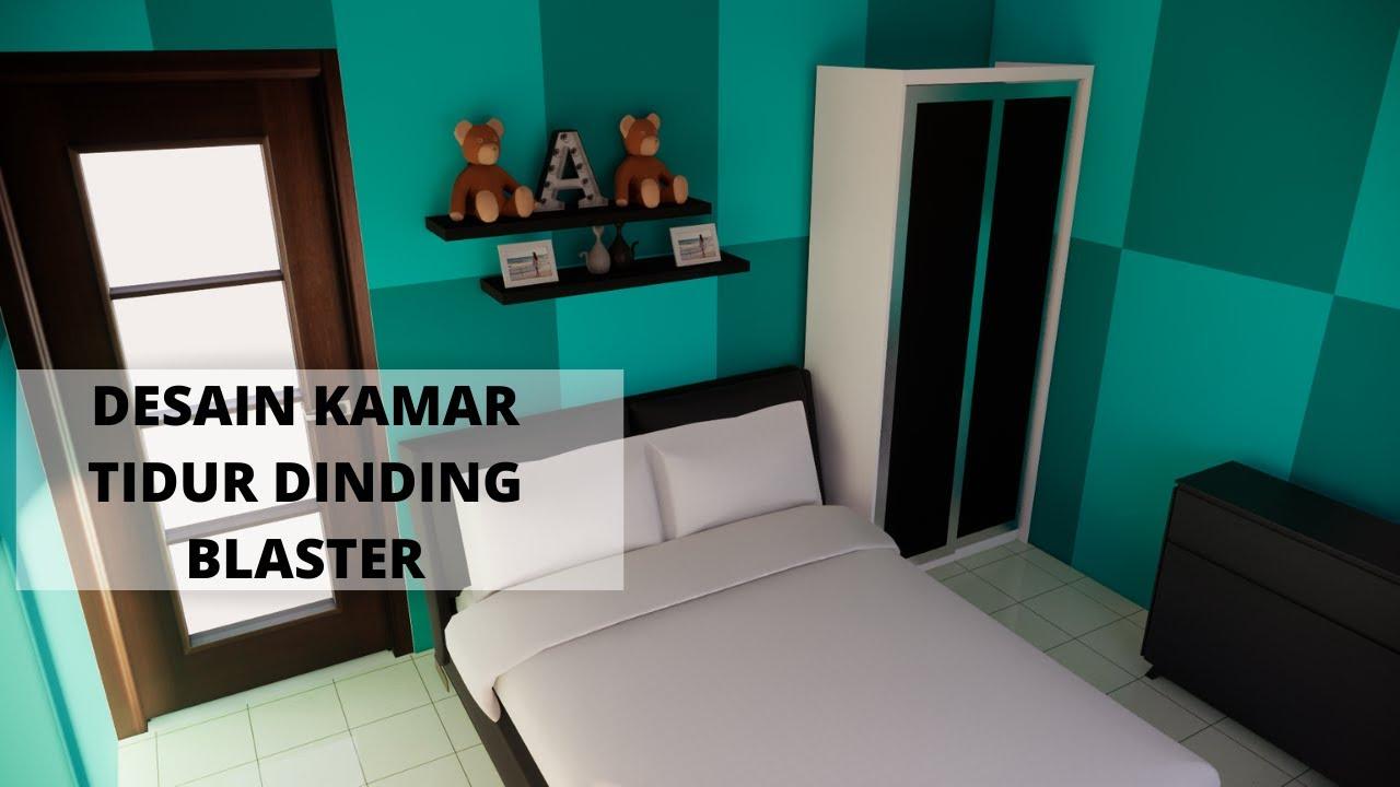 Cat Kamar Tidur Blaster