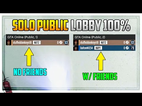 GTA 5 Online - SOLO PUBLIC LOBBY FOR CEO MISSIONS! 100% Easy Method! (How To / Tutorial)