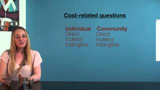 VCE HHD - Direct, indirect, intangible costs and NHPAs