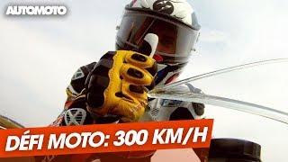 Le défi 300 km/h moto : BMW vs Ducati vs Yamaha vs Honda (2012)