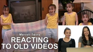 Reacting To Old Videos #2 - Merrell Twins
