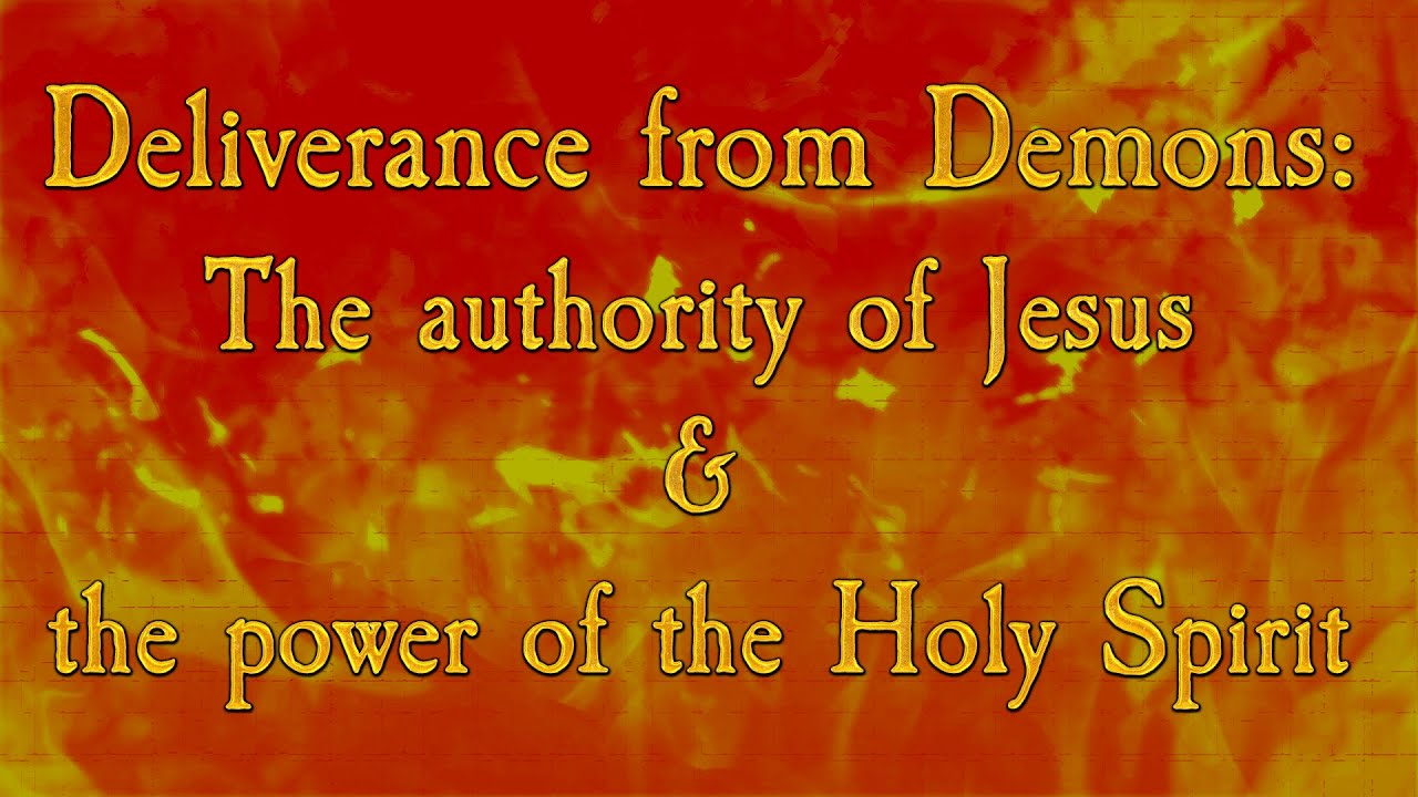the power of authority Christ has given every follower his power and authority to defeat satan and all evil spirits.