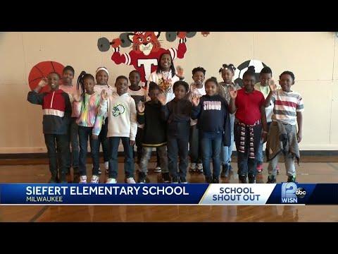 3/31 School Shout Out: Siefert Elementary School