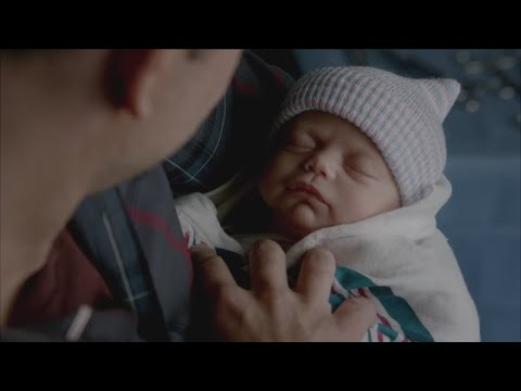 The Vampire Diaries: 7x13 - Caroline gives birth to Alaric's twins [HD]