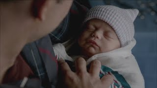 The Vampire Diaries 7x13 - Caroline gives birth to Alarics twins Josie and Lizzie HD