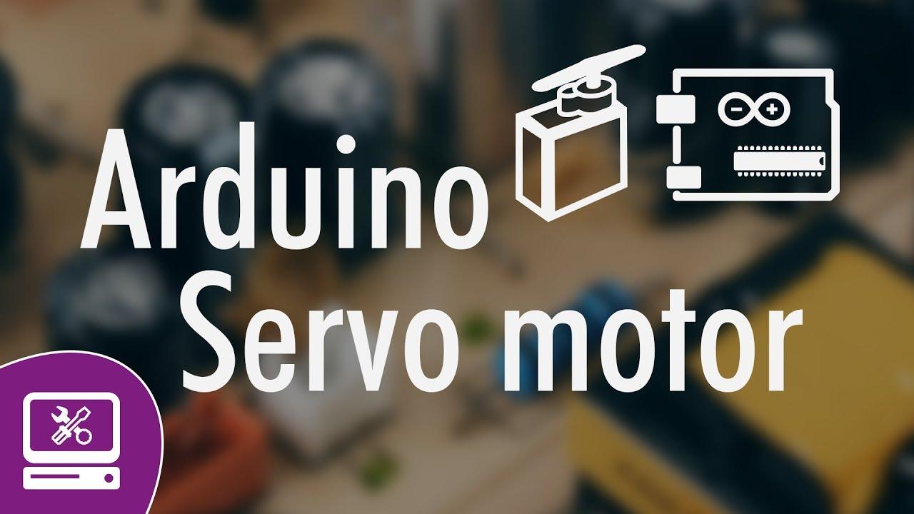 Arduino uno servo motor set position and rotation speed
