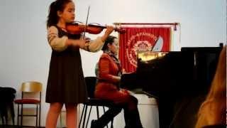 А.Вівальді - Alegro з концерту для скрипки  соль мажор