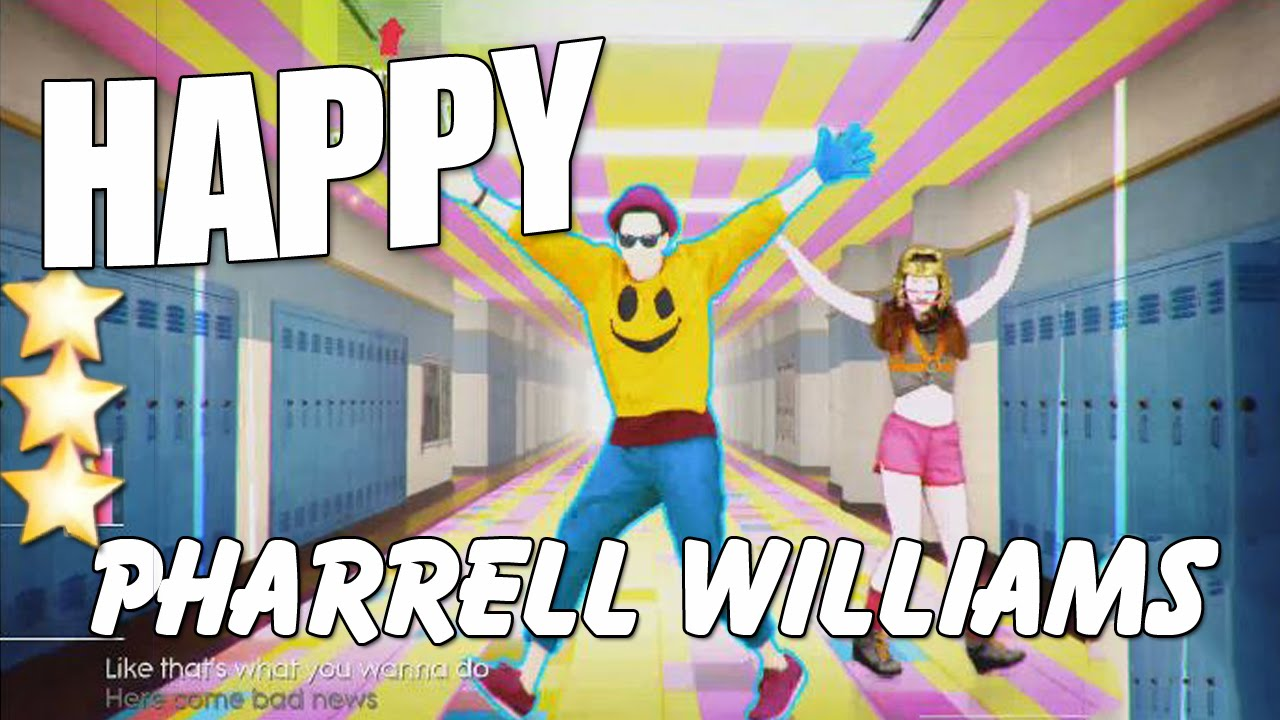 Just Dance 2015 Happy [Sing Along] Pharrell Williams ★ 5 ... |Happy Pharrell Williams Just Dance
