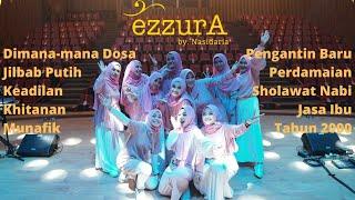 KOMPILASI LAGU QASIDAH EzzurA by Nasida Ria. Dimana-mana dosa jilbab putih keadilan khitanan munafik