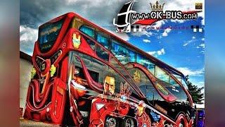 อู่สุดล้ำ!!! สร้างรถบัสซุปเปอร์ฮีโร่ คันเป็นสิบล้าน