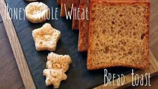 TANGZANG Honey whole wheat bread toast