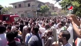 تشييع جثمان الشهيد «إسلام شعبان» في جنازة عسكرية ببني سويف