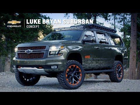 Chevrolet Suburban Concept by Luke Bryan