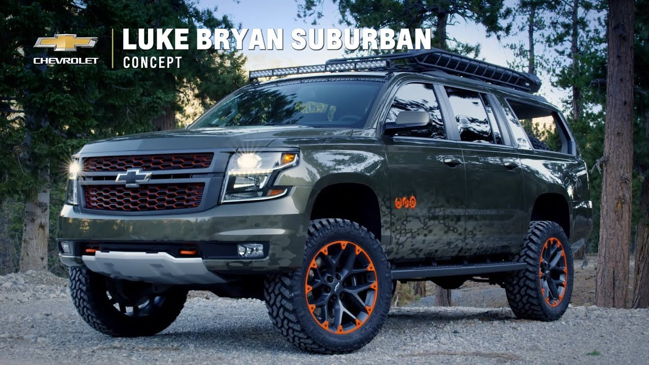 Chevrolet Suburban Concept By Luke Bryan Youtube
