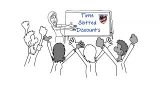 AAA Time slotted Discounts Explained Video (149 sec)