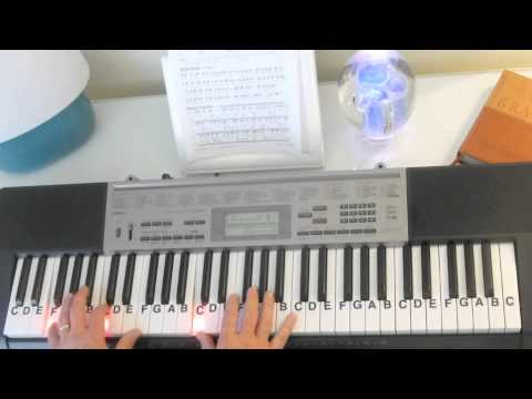 How to Play ~ How Great Thou Art ~ Key of Bb - Gospel Song ~ LetterNotePlayer ©