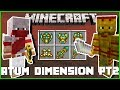 Minecraft - THE ATUM DIMENSION OF THE ANCIENT EGYPTIAN GODS (DISCOVER A WORLD OF SAND & THE UNDEAD)