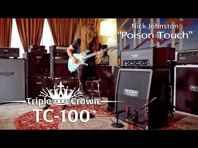 "Tone Sessions: Nick Johnston – TC-100 – ""Poison Touch"""