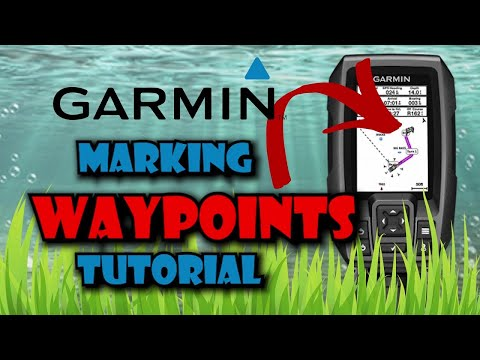 Garmin Striker 4 Marking GPS Waypoints In Depth Tutorial