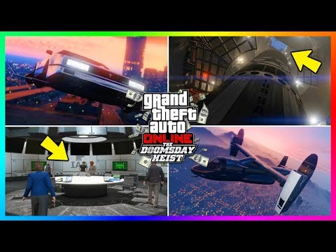 GTA Online Doomsday Heist DLC - How Much Money You Need To Buy EVERYTHING - Cars, Jetpacks & MORE!