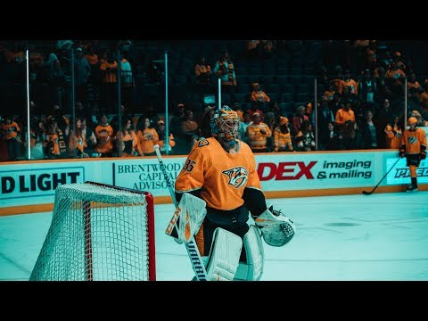 S2E10 | Nashville Predators vs Buffalo Sabres | Hey thanks for having me