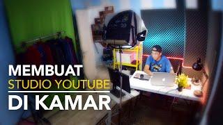 Cuma Pakai WebCam - Cara Membuat Studio Youtube di Kamar